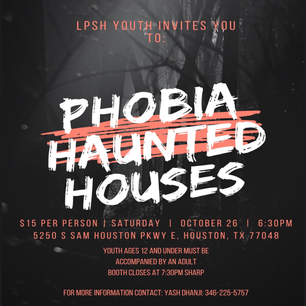 LPSH Youth Haunted Houses