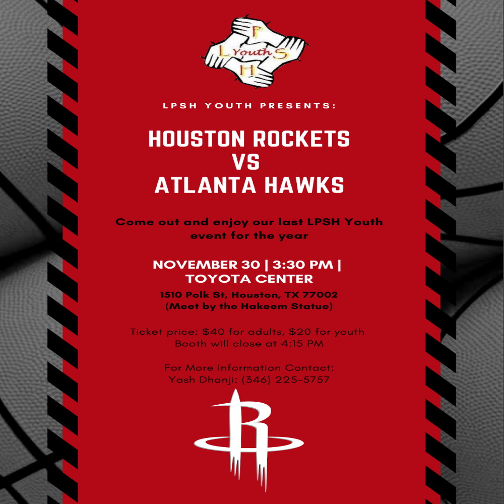LPSH Youth Houston Rockets Game