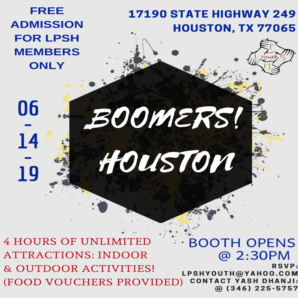 LPSH Youth Boomers! Houston Event